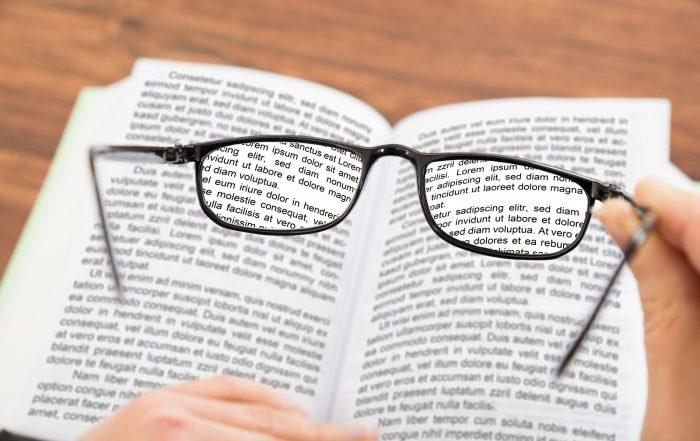 látásvizsgálat presbiopia)